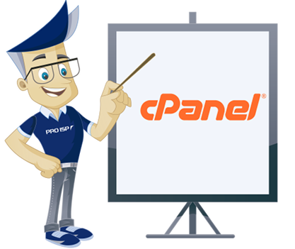 cPanel kontrollpanel