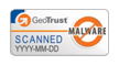 GeoTrust Web Site Anti-Malware Scan site seal