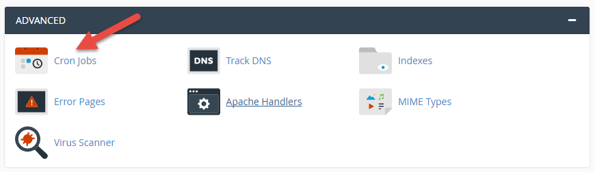 Creation of cron job in cPanel