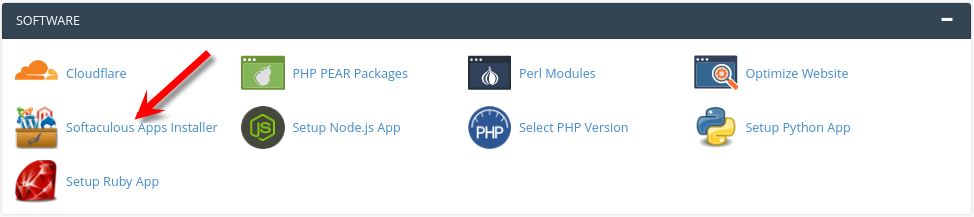 Cpanel overview