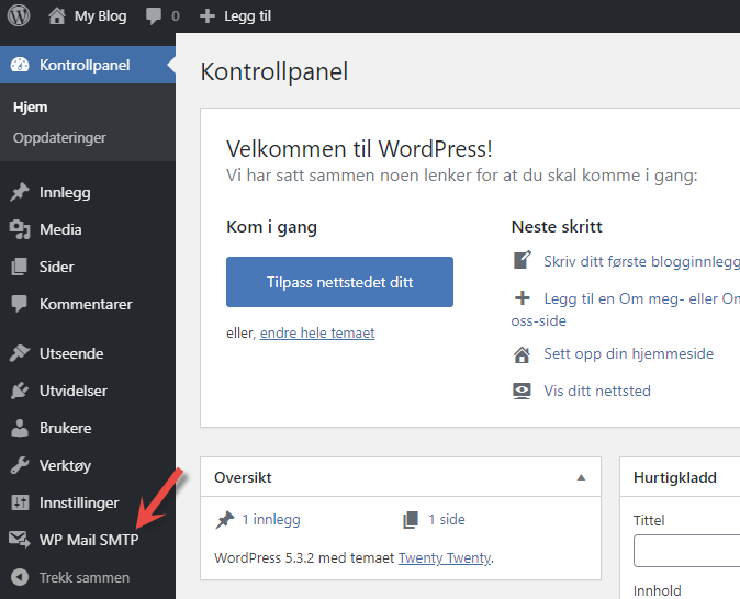 WP Mail SMTP i WordPress